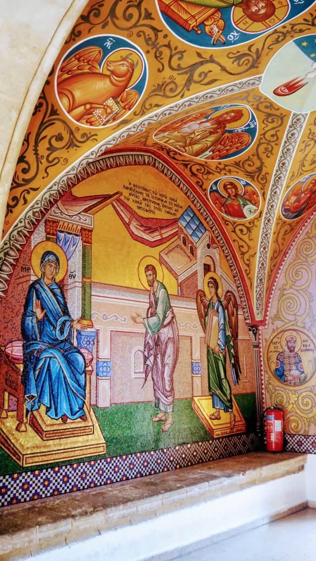 キプロス島 キーコス修道院