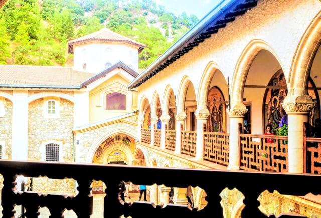 キプロス島 キッコース修道院