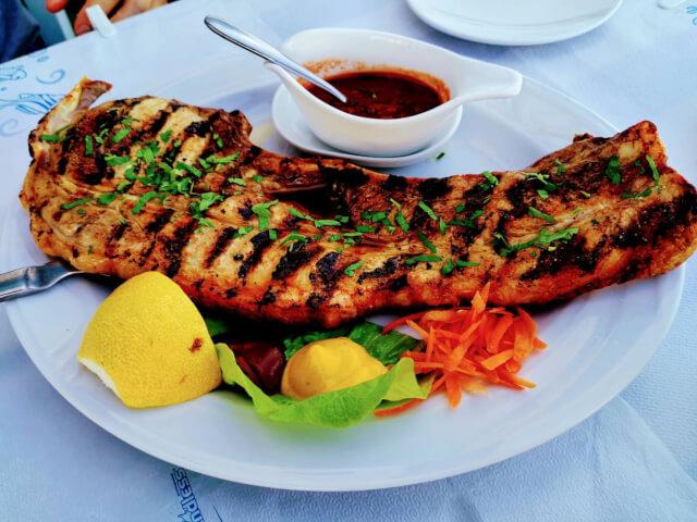 キプロス島 レストランカラベル