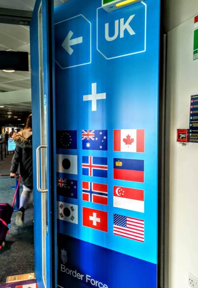 イギリス 空港